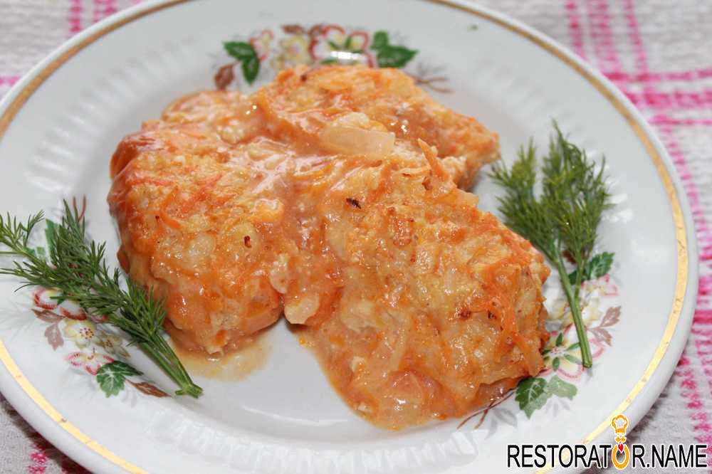 Фото рецепты блюд фарша риса
