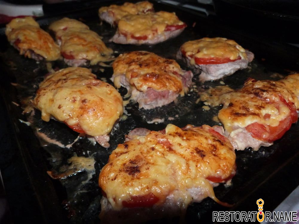 Отбивные из свинины в духовке рецепт