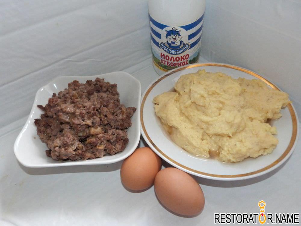 Как сделать фарш в картошке 193