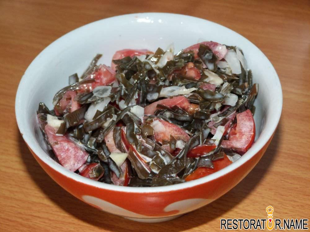 Как сделать салаты из морской капусты 860
