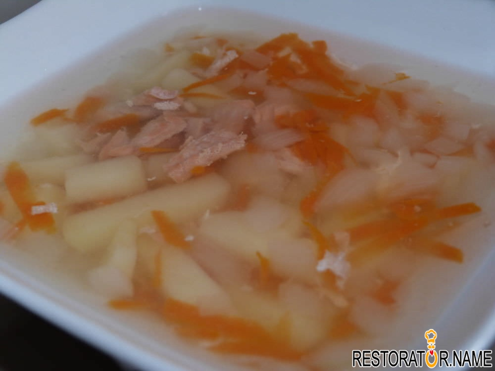 Уха из горбуши филе рецепт пошагово