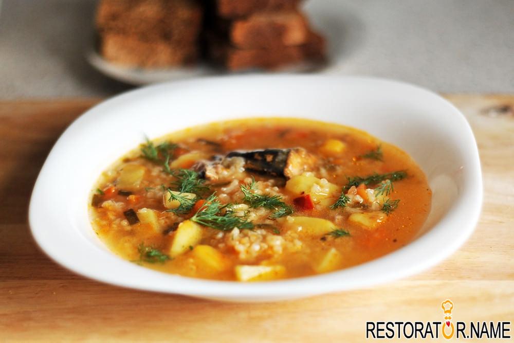 Рыбный суп из зубатки рецепт с фото