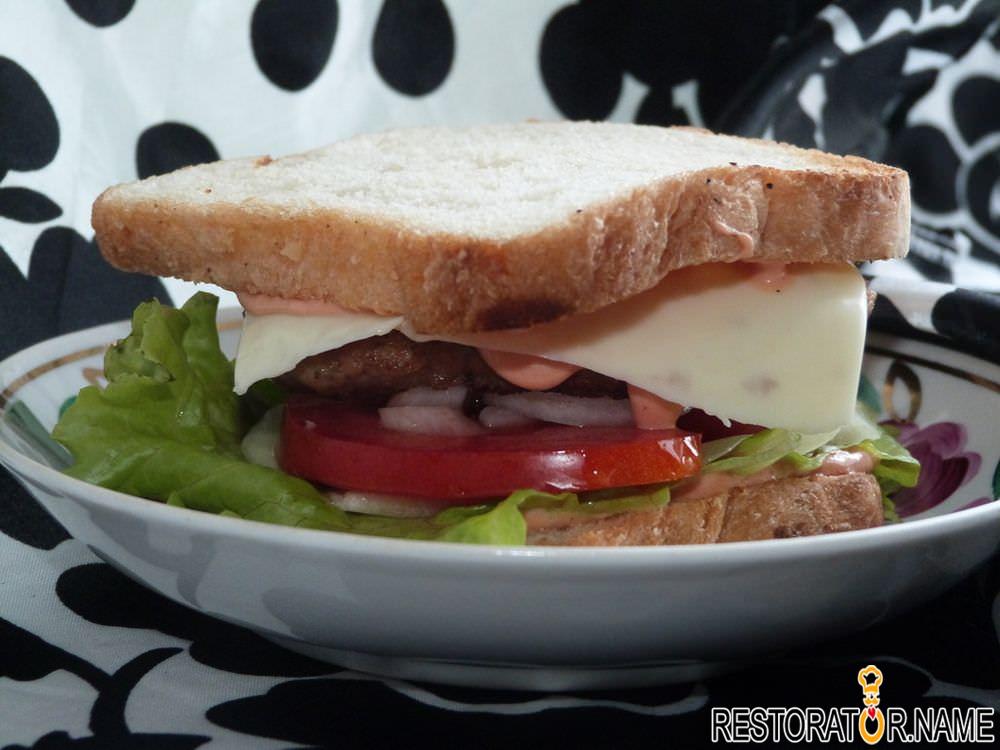 Как сделать сэндвичи в домашних 155
