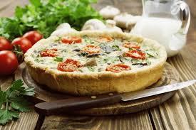 Пицца сырно–грушевая.