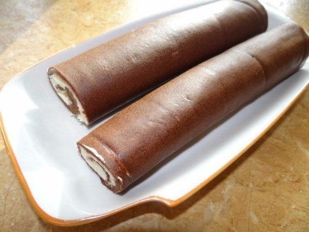 Шоколадные рулетики