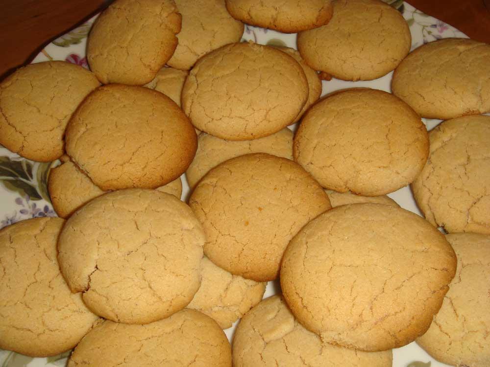 Рассыпчатое печенье, со вкусом халвы