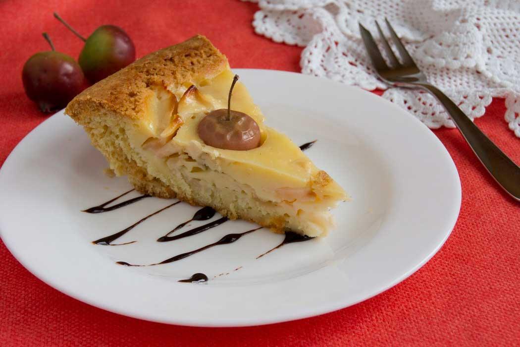 Яблочный пирог готов!