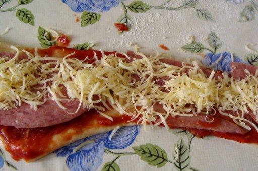 посыпаем сыром