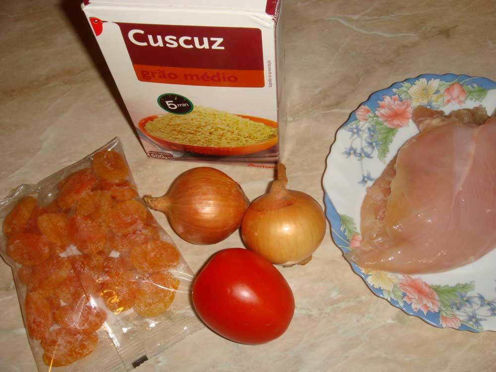 Ингредиенты для кускус