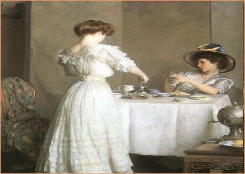 английское чаепитие