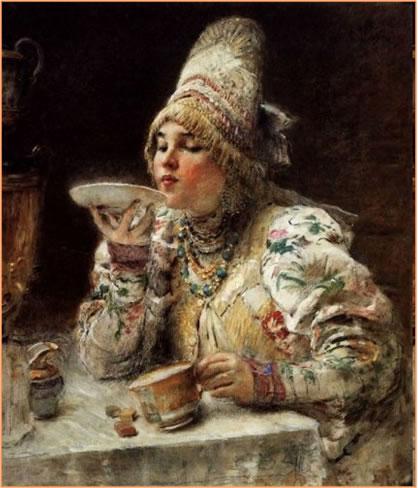 Появление чайников в России