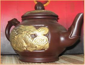 Старый китайский чайник