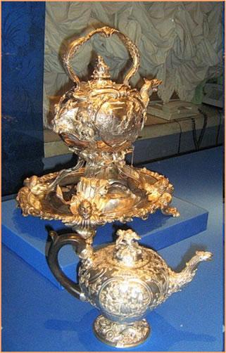 Первый чайник в Европе