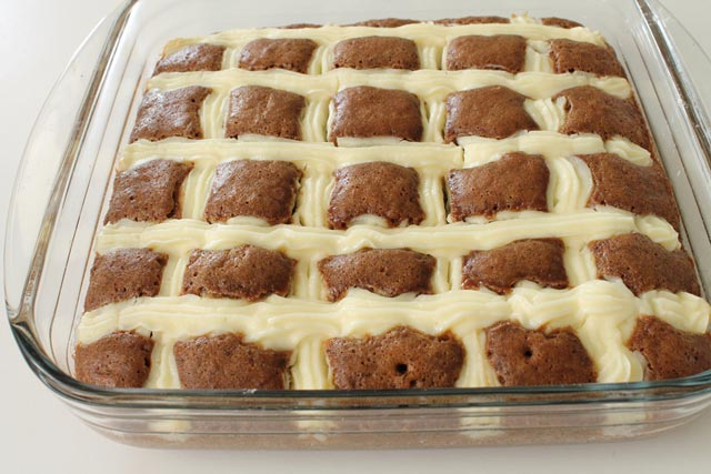 Пирог в готовом виде