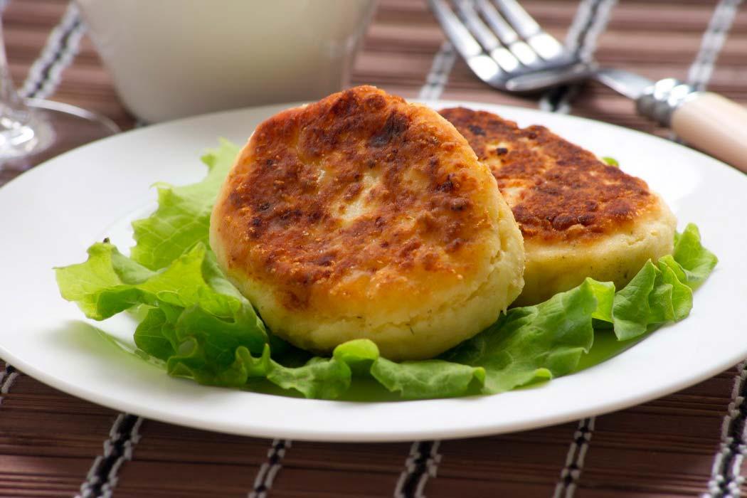 Сырники в готовом виде