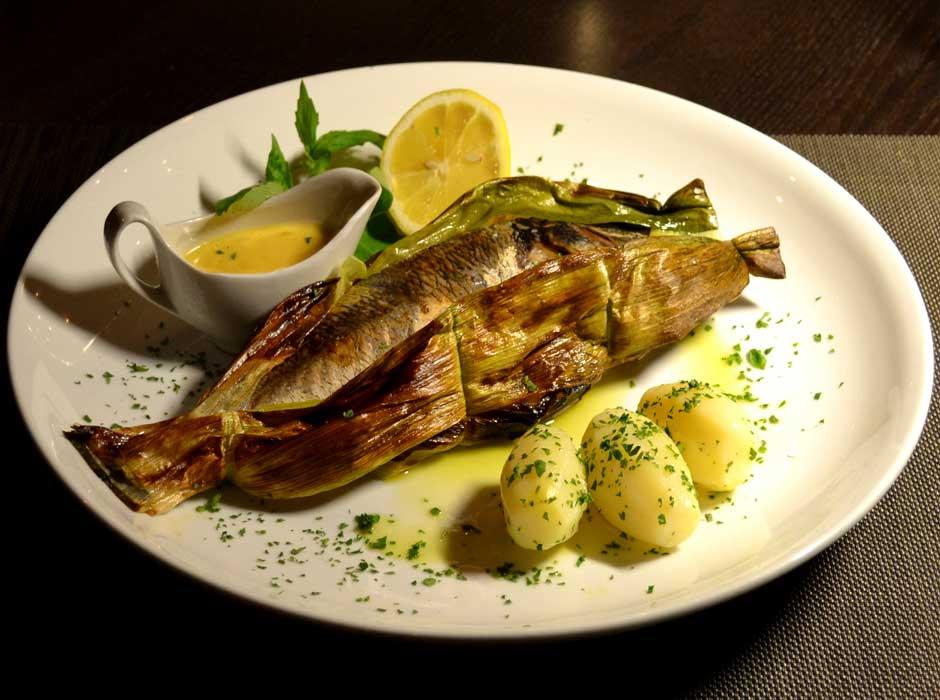 """Рыбные блюда в ресторане """"Марио"""""""