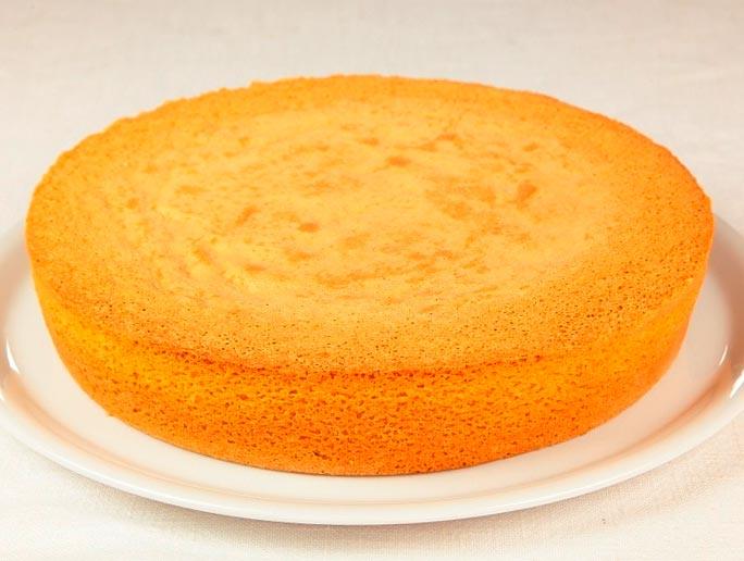 классический бисквит в готовом виде
