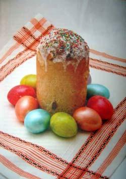 Крашеные яйца - символ Пасхи