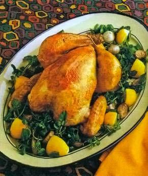 Подача курицы с картофелем