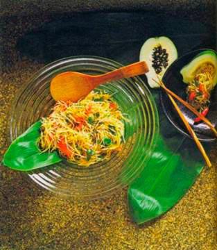салат из папайи