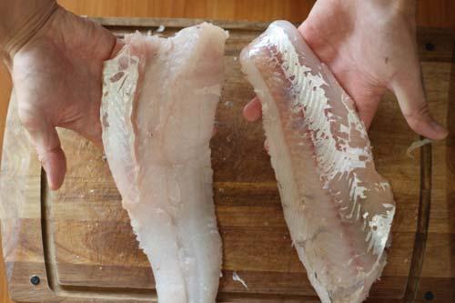 Свежее рыбное филе