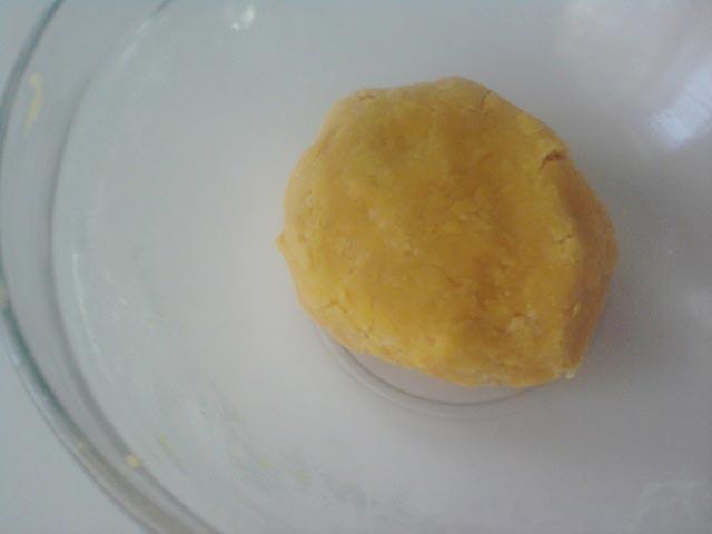 замесить тесто для печенья