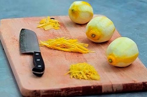 Или, срезаем обычным ножом