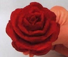 Роза из свеклы пошаговое фото