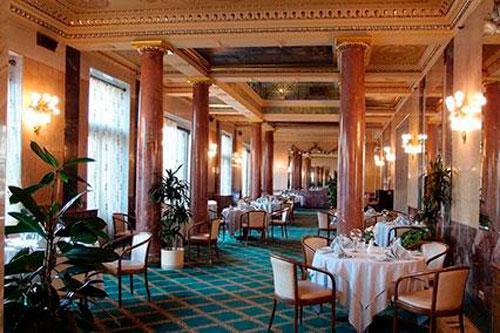 Торговый зал ресторана Европейский